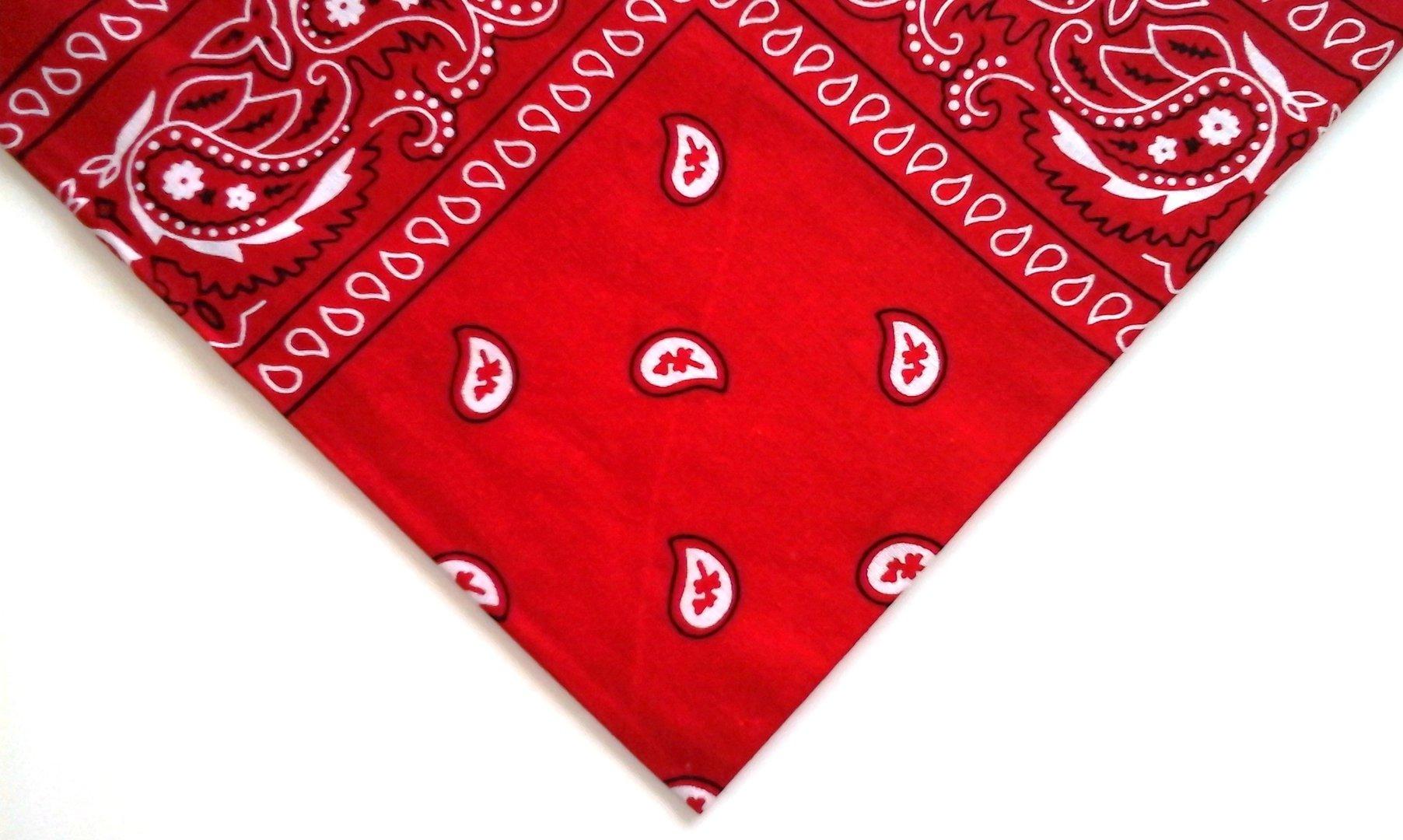 Punainen bandana - Huivikauppa.com 8d57cd31f7